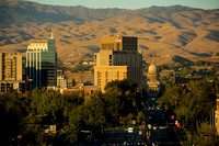 Boise Skyline October 2013